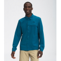 Moroccan Blue - The North Face - Men's First Trail L/S Shirt
