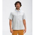 Tin Grey - The North Face - Men's First Trail S/S Shirt
