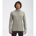 Mineral Grey Heather - The North Face - Men's Wander 1/4 Zip