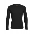 Black - Icebreaker - Men's Oasis LS Crewe