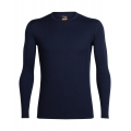 Midnight Navy - Icebreaker - Men's Oasis LS Crewe
