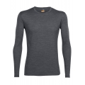 Gritstone Heather - Icebreaker - Men's Oasis LS Crewe