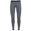 Gritstone Heather/Black/White - Icebreaker - Women's Oasis Leggings