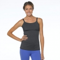 Charcoal Heather - Prana - Nixie Top