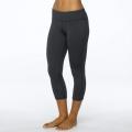 Charcoal Heather - Prana - Women's Ashley Capri Legging