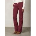 Burgundy - Prana - Women's Halle Pant - Short Inseam
