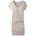 Pebble Grey Heather Stripe - Prana - Women's Foundation Dress