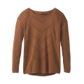 Burnt Caramel Heather - Prana - Women's Mainspring Sweater