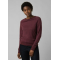 Raisin Heather - Prana - Women's Analia Cozy Up Top
