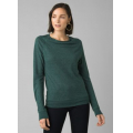 Peacock Heather - Prana - Women's Analia Cozy Up Top
