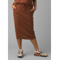 Roux Heather - Prana - Women's Cozy Up Midi Skirt
