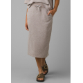 Oatmeal Heather - Prana - Women's Cozy Up Midi Skirt