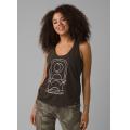 Washed Black Moonrise - Prana - Women's Organic Graphic Tank
