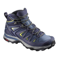 Crown Blue/Evening Blue/Sunny Lime - Salomon - X ULTRA 3 MID GTX W