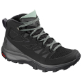 Black/Magnet/Green Milieu - Salomon - OUTline Mid GTX W