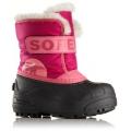 Tropic Pink, Deep Blush - Sorel - Childrens Snow Commander