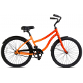 Ignite Orange - Batch Bicycles - The Cruiser Bicycle