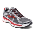 Charcoal/Silver/High Risk Red - Brooks Running - Men's Defyance 9
