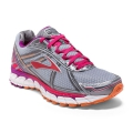 Silver/Charcoal/Paradise Pink - Brooks Running - Women's Defyance 9