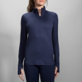 Heather Navy - Brooks Running - Women's Dash 1/2 Zip