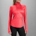 Poppy - Brooks Running - Women's Dash 1/2 Zip