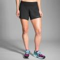 """Black - Brooks Running - Women's Chaser 5"""" Short"""