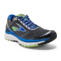 Anthracite/Electric Brooks Blue/Lime Punch - Brooks Running - Men's Ghost 9