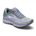 Grey/Primer Grey/Lilac - Brooks Running - Women's Ghost 9