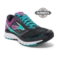 Black/Sparkling Grape/Ceramic - Brooks Running - Women's Ghost 9