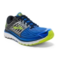 Electric Brooks Blue/Black/Lime Punch - Brooks Running - Men's Glycerin 14