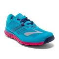 Peacock Blue/Virtual Pink/Patriot Blue - Brooks Running - Women's PureGrit 5