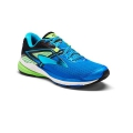 Electric Blue Lemonade/Black/Green Gecko - Brooks Running - Men's Ravenna 8