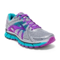 Silver/Purple Cactus Flower/Bluebird - Brooks Running - Women's Adrenaline GTS 17