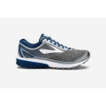 Silver/Blue/White - Brooks Running - Men's Ghost 10
