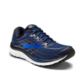 Peacoat Navy/Electric Brooks Blue/Black - Brooks Running - Men's Glycerin 15