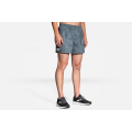 "Slate Haze                                                   - Brooks Running - Men's Sherpa 5"" Short"