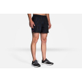 "Navy Haze                                                    - Brooks Running - Men's Sherpa 5"" Short"