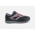 030 Ebony/Primer/Biking Red                                  - Brooks Running - Men's Beast '18