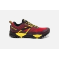 Red/Yellow/Black - Brooks Running - Men's Cascadia 13