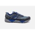 Grey/Blue/Ebony - Brooks Running - Men's Cascadia 13