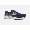 Navy/Gold/Grey - Brooks Running - Men's Adrenaline GTS 19
