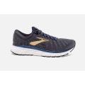 Grey/Navy/Gold - Brooks Running - Men's Glycerin 17