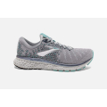 Grey/Aqua/Ebony - Brooks Running - Women's Glycerin 17
