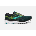 018 Black/Lime/Blue Grass                                    - Brooks Running - Men's Ghost 12
