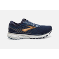 489 Navy/Deep Water/Gold                                     - Brooks Running - Men's Ghost 12