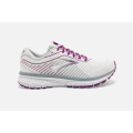 186 White/Grey/Hollyhock                                     - Brooks Running - Women's Ghost 12