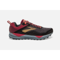 042 Black/Rumba Red/Coral                                    - Brooks Running - Women's Cascadia 14