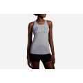 Heather Ash/Multi Run                                        - Brooks Running - Women's Distance Graphic Tank