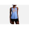 Dusk/Run Happy                                               - Brooks Running - Women's Distance Graphic Tank