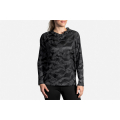Black/Wave Reflective                                        - Brooks Running - Women's LSD Pullover
